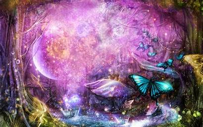 Butterfly Fantasy Background Colorful Theme Designs Desktop