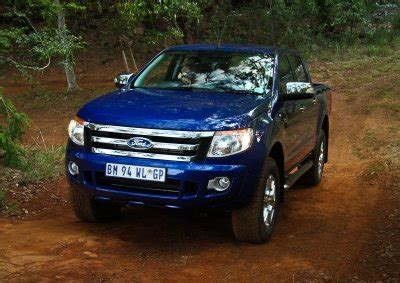 ford ranger driven wheels