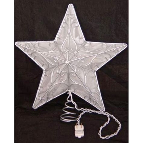5 point silver wire star tree topper at hayneedle