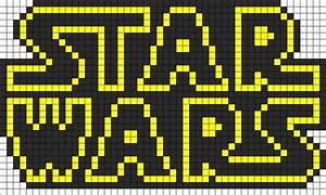 Star Wars Schriftzug : star wars perler bead patterns motto star wars ~ A.2002-acura-tl-radio.info Haus und Dekorationen