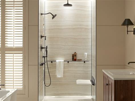 kohler choreograph shower collection creates functional