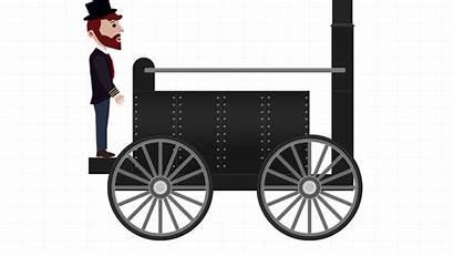 Train Brick Labo Build Locomotive Steam