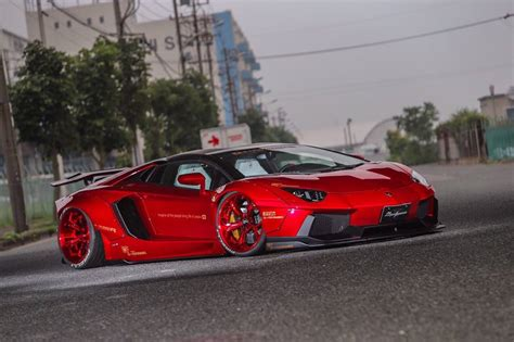 lamborghini aventador  liberty walk treatment paul tan