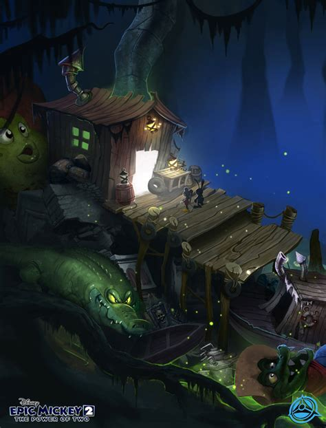 Image Disney Epic Mickey 2 Concept Art Kevin Chin 08
