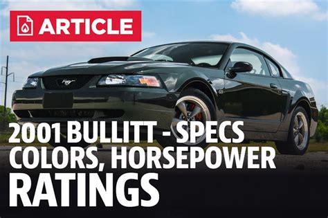mustang bullitt specs colors horsepower lmr