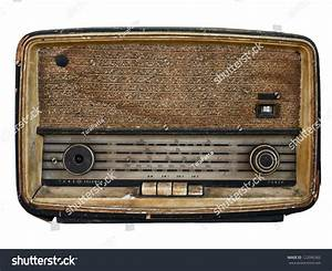 Very Old Vintage Radio Worn Out Stock Photo 122096362 ...