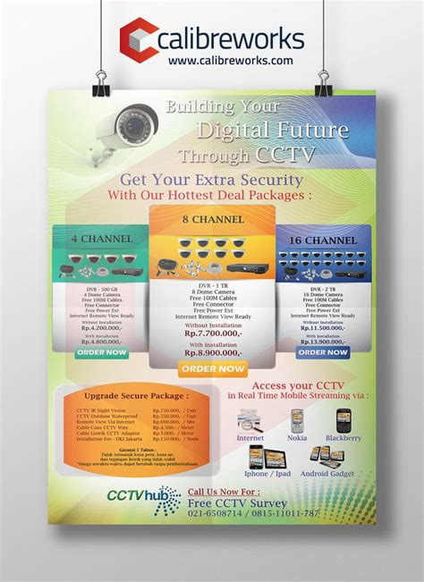 brochure cctv