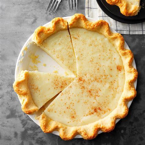 sugar cream pie recipe taste  home