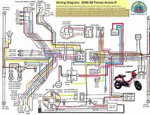 Top Wave 100 Cdi Wiring Diagram New Tomos Electrical  U00ab Myrons Mopeds