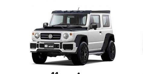 modified suzuki jimny   mercedes  wagens mini