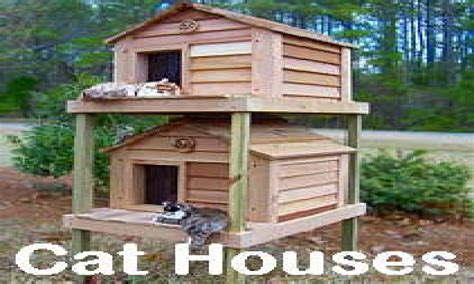 outdoor cat house  cat houses  winter cat house