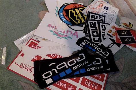 Free Brand Stickers!  Youtube