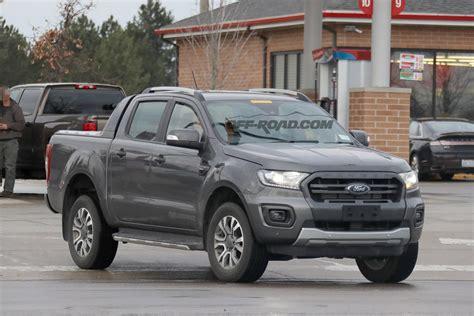 ford ranger wildtrak zubehör 2019 ford ranger wildtrak spied inside and out road
