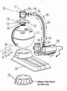 American Products Meteor Filter Parts Diagram