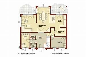 Haus Raumaufteilung Beispiele : favorit massivhaus ~ Lizthompson.info Haus und Dekorationen