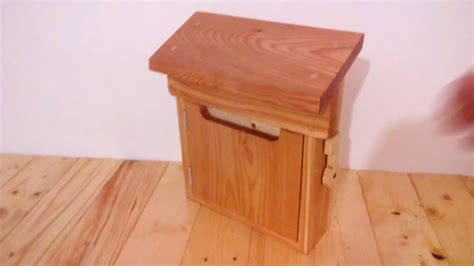 diy wooden mailbox youtube