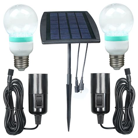 outdoor indoor solar power led lighting system light l
