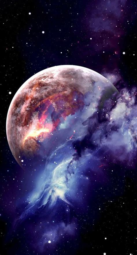 es hermoso observar la luna en su punto mas cercano pantalla de iphone en  fondos de