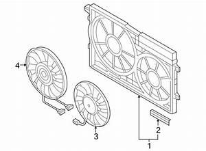 1km121205 - Engine Cooling Fan Shroud  Front   Liter  Gas  Diesel