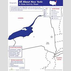 1000+ Images About New York State On Pinterest  Activities, Printable Maps And Life Science