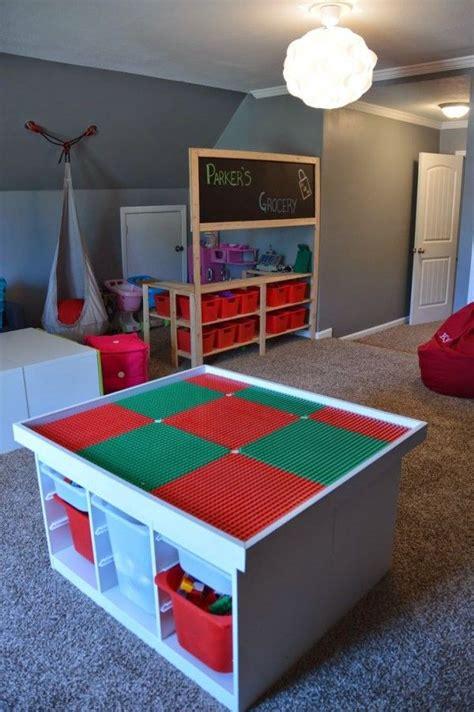 1000 id 233 es sur le th 232 me chambre lego sur salle lego rangement l 233 go et table lego
