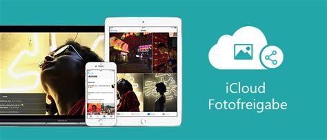 icloud fotofreigabe fotos und bilder freigeben