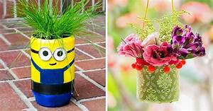 10 creative ways to make beautiful flowerpots from
