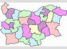 Administrative Map Of Bulgaria Clip Art at Clkercom