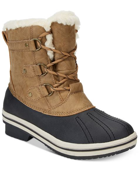 macys womens shoes flash sale pawz gina winter boots