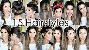 Cute Hairstyles For School   Hairstyles Ideas