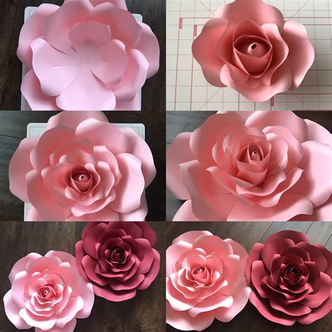 paper flower backdrop template free template and tutorial on neville design link https annneville design