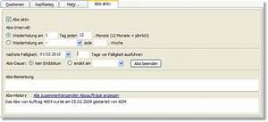 Rechnung Tragen : wie k nnen abo auftr ge erstellt werden z b f r service und wartungsrechnungen das ~ Themetempest.com Abrechnung