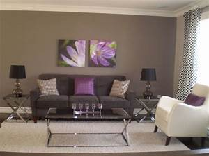 25 best ideas about purple living rooms on pinterest With grey and purple living room