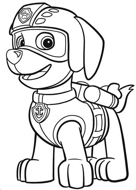 disegni da colorare paw patrol 50 disegni di paw patrol da colorare pianetabambini it