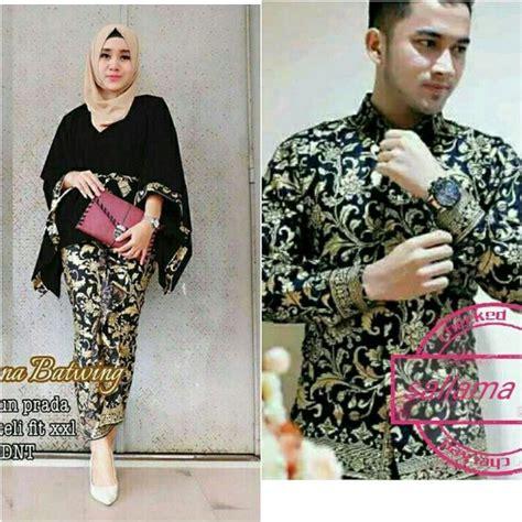 Gamis couple terbaru dengan model yang akan membuat penampilanmu makin serasi. Paling Keren Model Baju Batik Couple Buat Tunangan - JM | Jewelry and Accessories