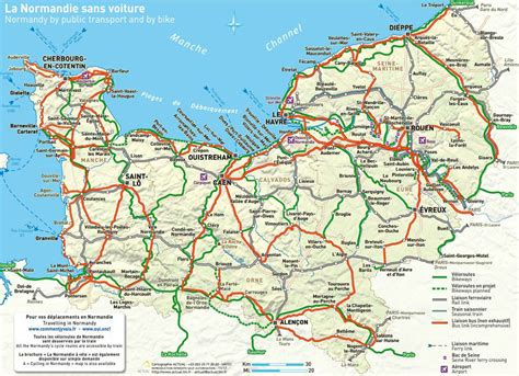 Carte De Plage Normandie by Map Of Normandy Where Is Normandy Getting Around