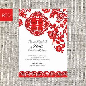 19 best asian chinese red double happiness wedding With chinese wedding invitation printing vancouver