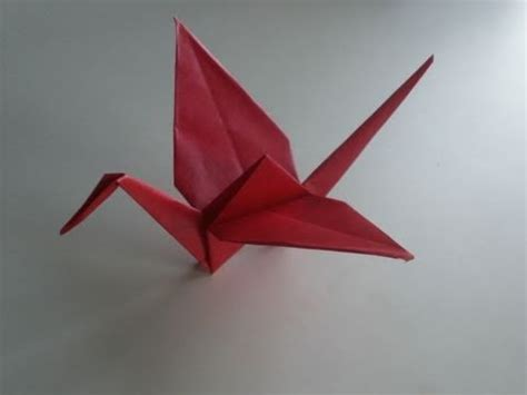 origami anleitung kranich