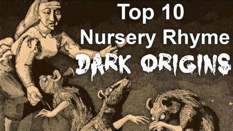Dark Stories Behind Nursery Rhymes by Top 10 Nursery Rhyme Dark Origins Youtube