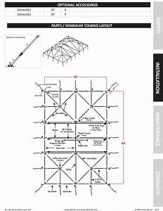 40 X 60 Frame Tent Installation Instructions