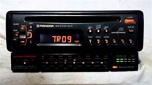 Vintage Pioneer Deh Fm  Cd Player Car Stereo W  Bp
