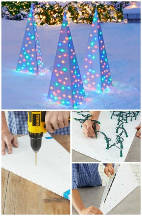 how to fix christmas lawn ornaments 20 impossibly creative diy outdoor decorations diy crafts