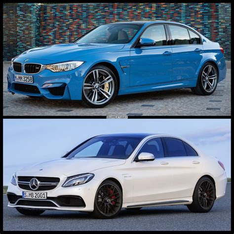 bmw   mercedes benz   amg comparison