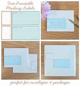 Free printable mailing labels aqua and orange home for Home address labels free