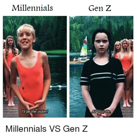 gen memes millennials meme vs millennial jokes roasts joke roasted getting