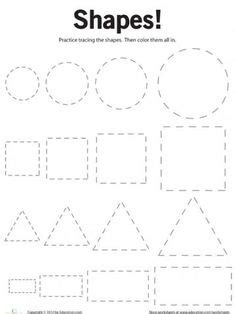 printable shapes images shapes preschool