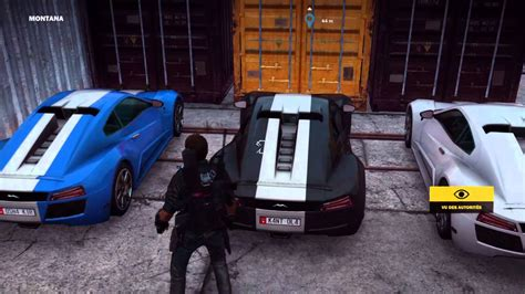 voiture de sport emplacement voiture de sport just cause 3 youtube