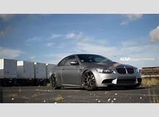 BMW E92 M3 On ADV101 MV1 SuperLight Series Wheels