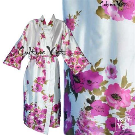 fabrication d une chambre de culture peignoir kimono femme en satin de soie l culture viet