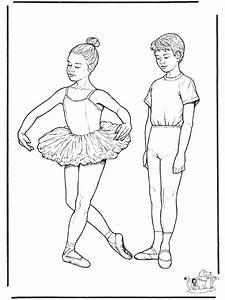 Ballett 1 Malvorlagen Ballett